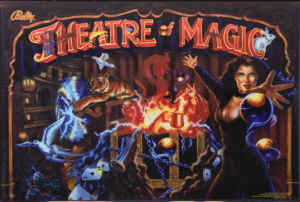 Arcooda Pinball Arcade theatre magic
