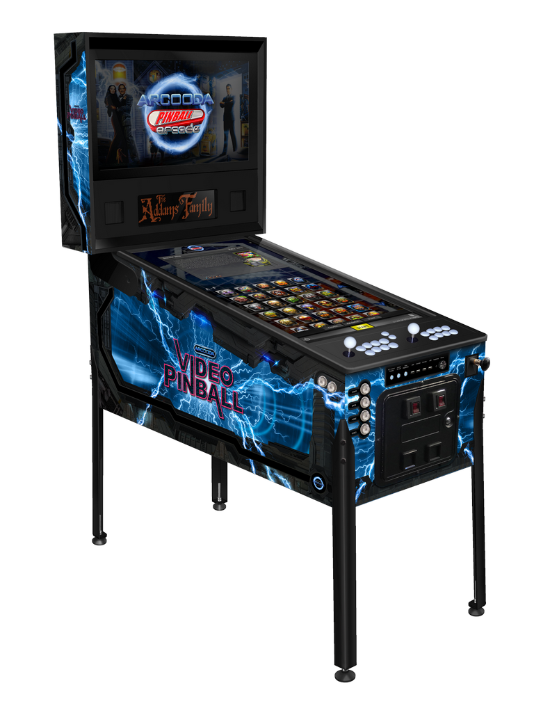 Arcooda Pinball Arcade video pinball machine