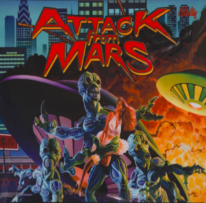 Attack from Mars with Kinect Support