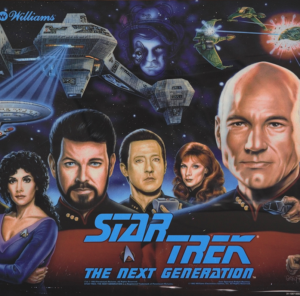 Star Trek TNG with Kinect Support